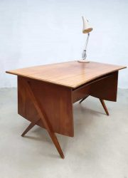 Vintage design office desk werktafel bureau jaren 50 60 design