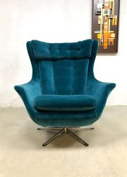 mid century modern luxury lounge chair swivel chair egg chair wingback fauteuil
