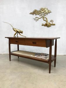 Danish midcentury modern sideboard vintage design side table Deens