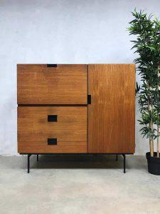 Vintage Cees Braakman cabinet kast Japanse serie CU01 Pastoe