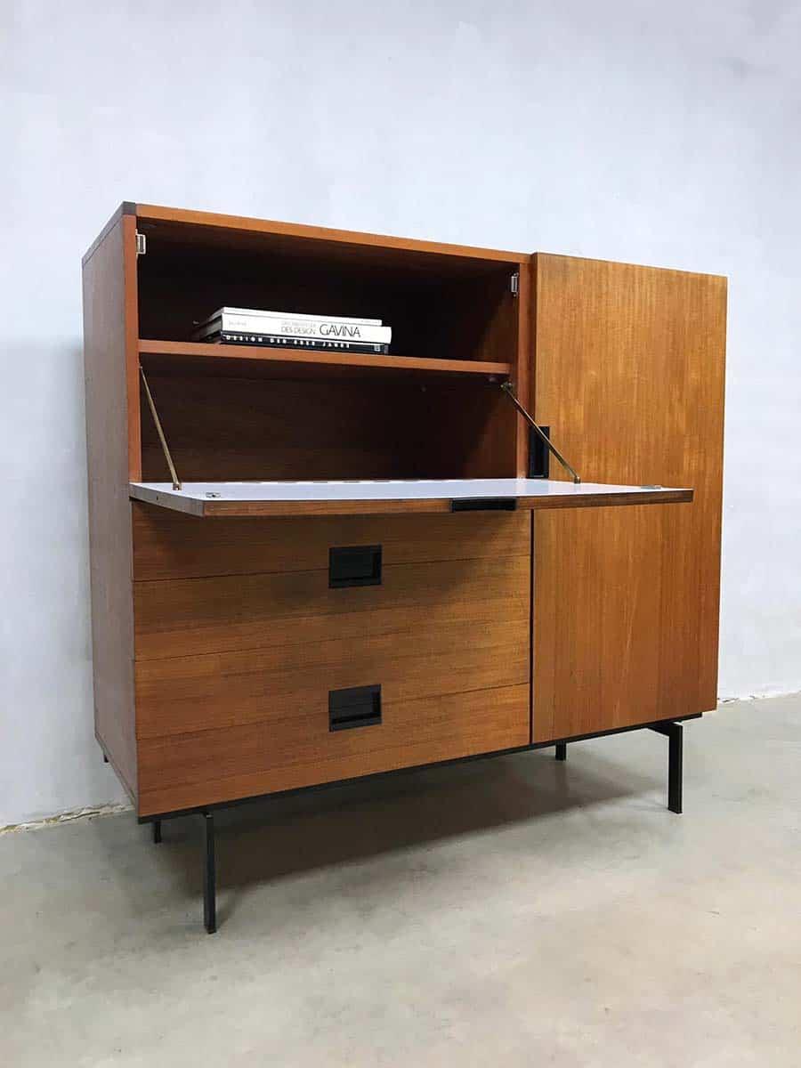 Kast Metalen Frame.Vintage Cees Braakman Cabinet Kast Japanse Serie Cu01 Pastoe