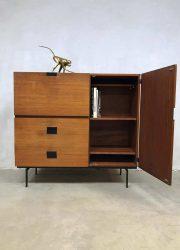 vintage design kast jaren 50 Pastoe Cees Braakman metalen poten Japanese series