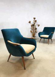 Midcentury modern vintage design armchair lounge chair Danish Scandinavian club fauteuil