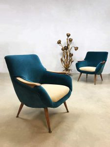 Midcentury modern vintage design armchair lounge chair Danish Scandinavian club fauteuil