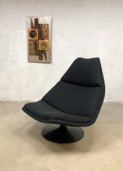 Geoffrey Harcourt model F511 draaifauteuil swivel chair Artifort