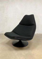 model F511 Artifort swivel chair draaifauteuil Geoffrey Harcourt vintage design schelp fauteuil