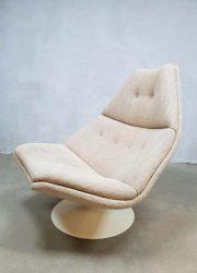 Geoffrey Harcourt swivel lounge chair draaifauteuil midcentury modern