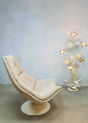 dutch vintage design lounge chair swivel chair G.Harcourt Artifort