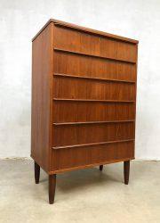 vintage danish chest of drawers scandinavian design