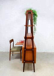 Danish vintage design room divider desk cabinet wall unit Deens bureau