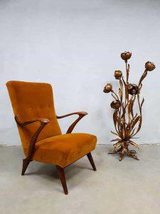 Midcentury modern armchair Danish design lounge fauteuil 'pure luxury'