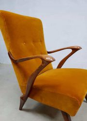 midcentury modern lounge chair armchair Danish design Italian design