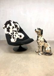 Vintage dog sculpture statue hond Dalmatiër decoratief