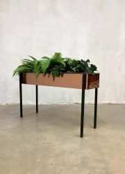 Vintage design copper plant stand plantenbak plantenstandaard 'Glamour'
