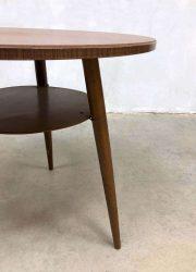 vintage Scandinavian modern side table plant stand bijzettafel tafel sixties jaren 60