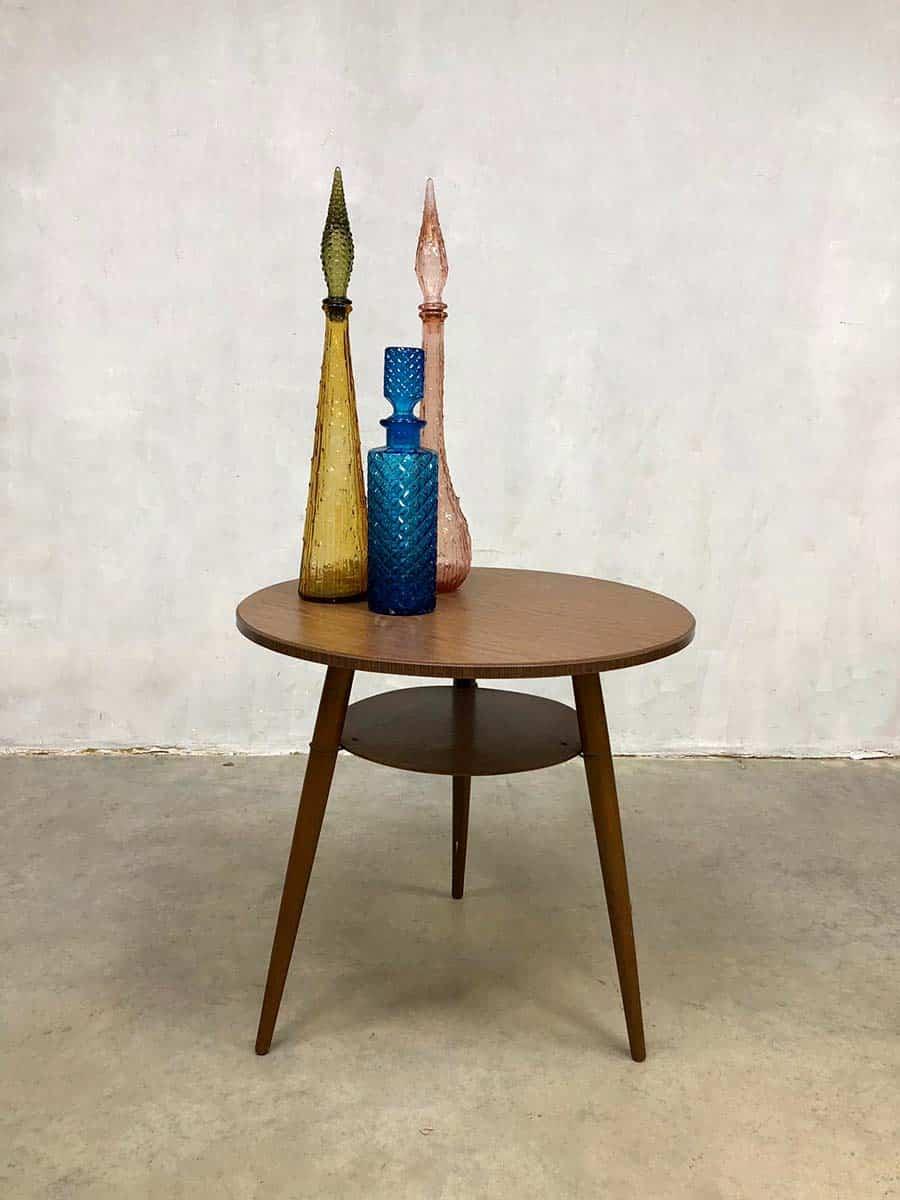Side Table Bijzettafel.Vintage Sixties Design Side Table Coffee Table Bijzettafel