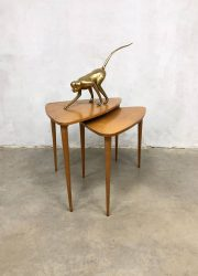 Danish tripod vintage design mimiset nesting tables bijzettafel