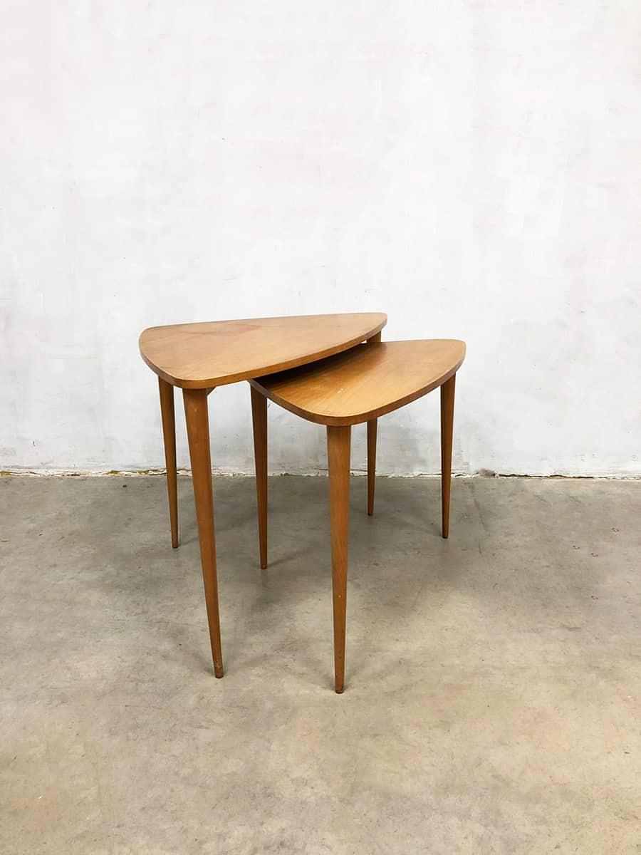 Bijzettafel Modern Design.Midcentury Modern Mimiset Bijzettafel Danish Design Side Tables 2