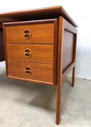 midcentury modern Arne Vodder desk 1960 GV Mobler Danish design bureau