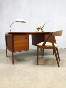 Vintage Danish design writing desk Arne Vodder GV Mobler bureau