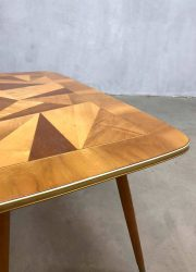 fifties coffee table vintage retro design