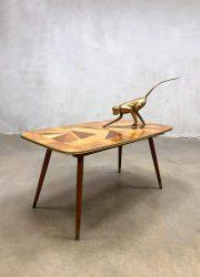 Vintage design coffee table fifties salontafel bijzettafel Italy