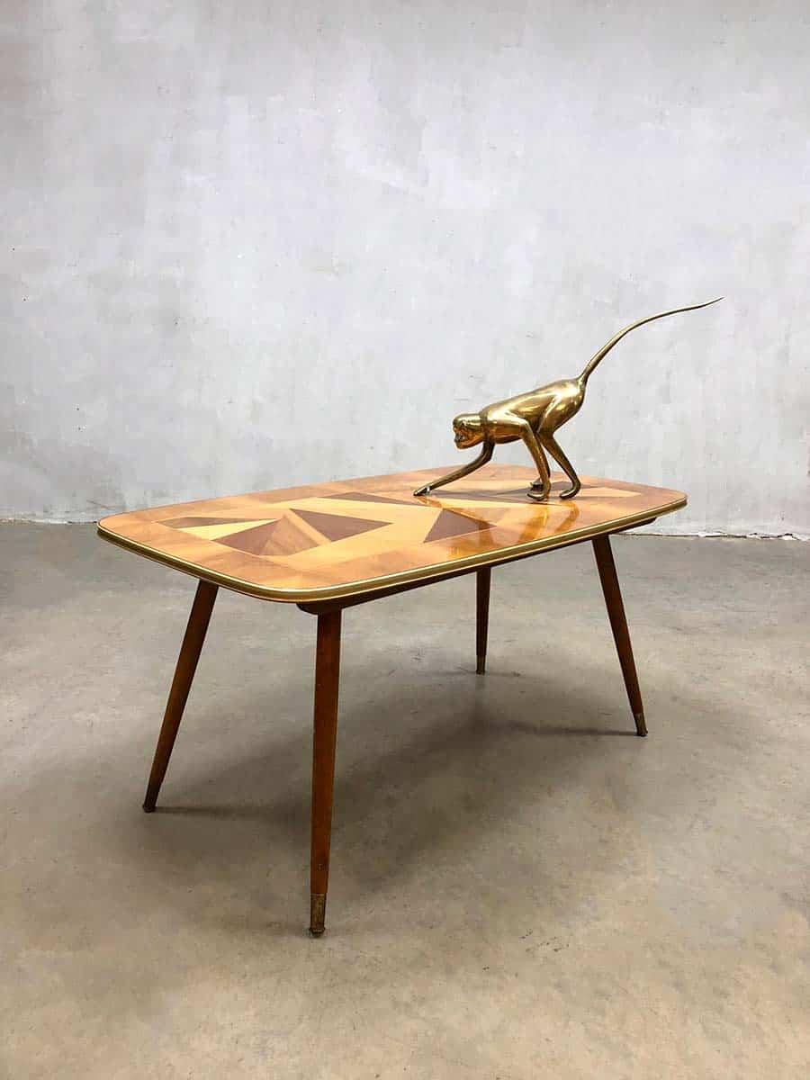 Bijzettafel Retro Design.Vintage Design Coffee Table Fifties Salontafel Bijzettafel Italy