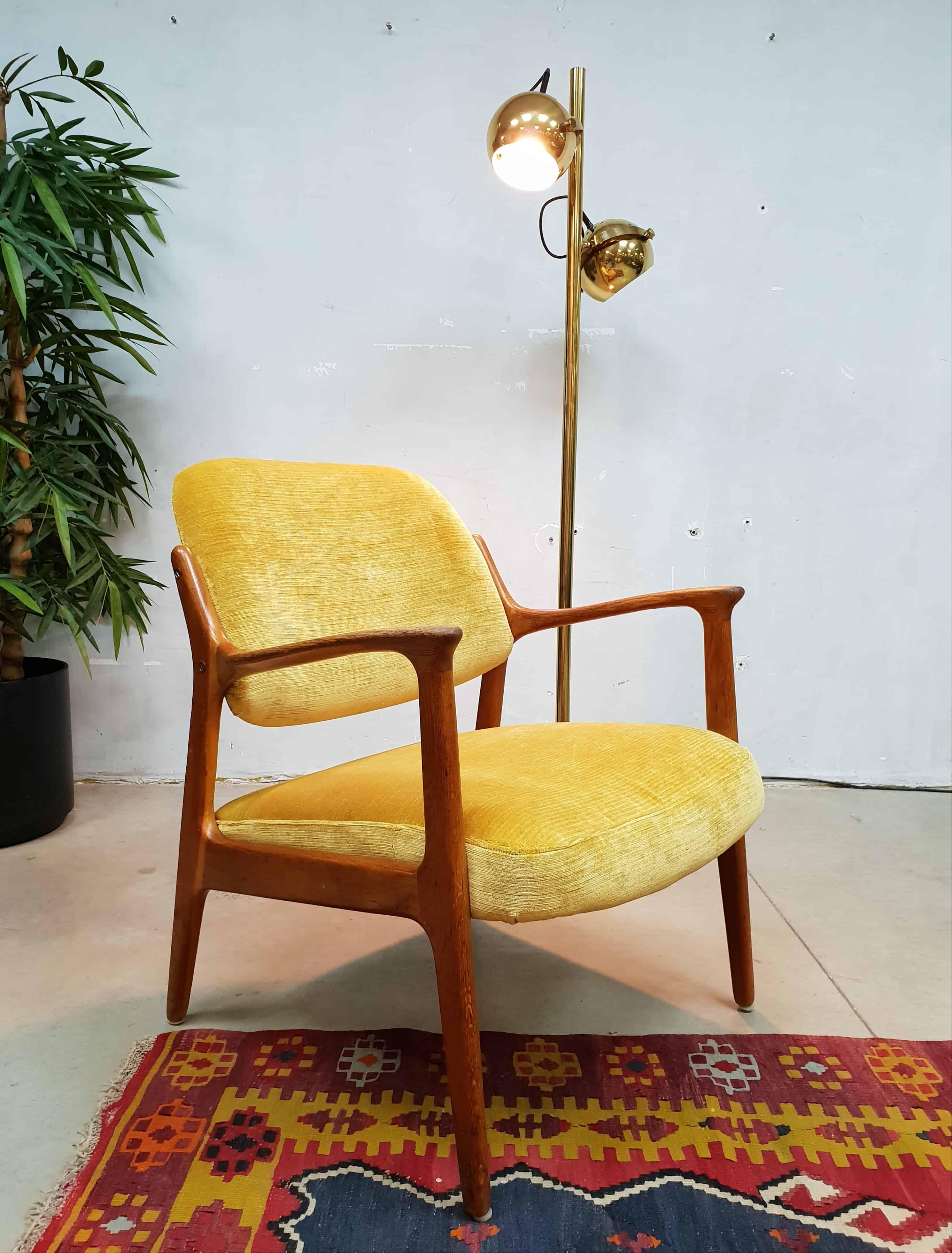 Swell Vintage Danish Scandinavian Armchair Lounge Chair Fifties Frankydiablos Diy Chair Ideas Frankydiabloscom