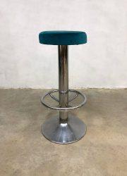 vintage retro barkruk kruk barstool stool industrial design sixties