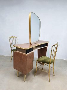 Unique two way vintage dressing table vanity table kaptafel make-up tafel