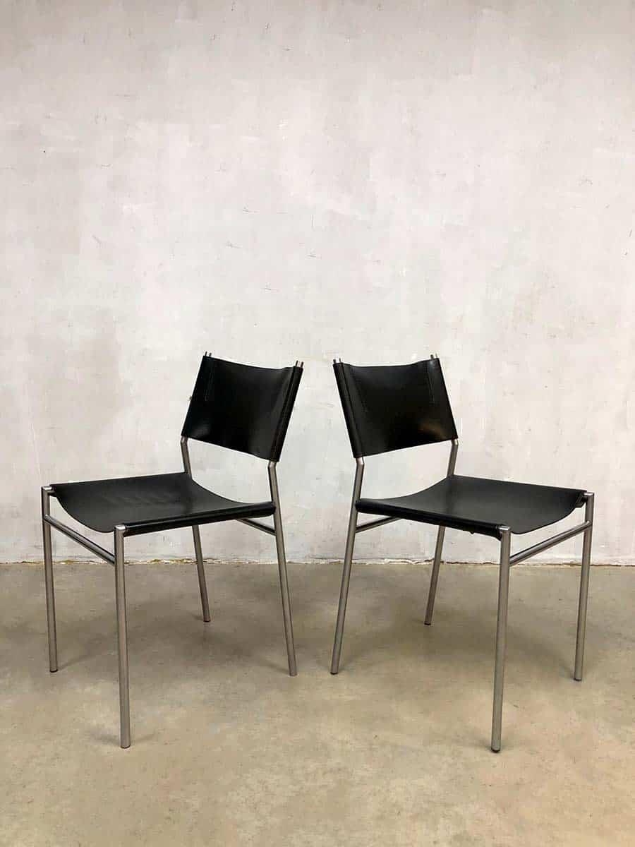 Dutch design minimalism Martin Visser eetkamerstoelen Spectrum