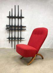 Dutch vintage design chair Artifort congo chair