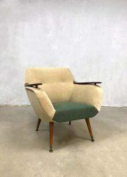 Armchair Danish design Deens design club chair Vintage