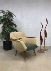 Vintage Danish design armchair club chair Deens design