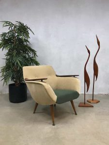 Vintage Danish design armchair club chair Deens design