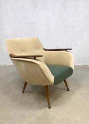 Deens vintage design club chair arm chair Danish
