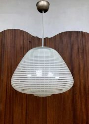 Rare vintage Wilhelm Wagenfeld pendant lamp Peill & Putzler