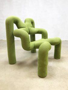 vintage Stokke lounge chair Ekstrem design chair Terje Ekstrom