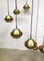 vintage retro sixties luster pendant lamp vintage design sixties seventies design