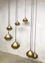 Vintage design cascade pendant lamp hanglamp luster XXL 1960