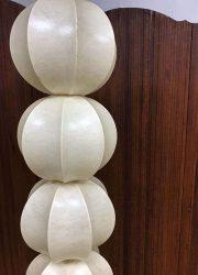 vintage pendant hanglamp 4 globe Giacomo Castiglioni cocoon lamp Friedel Wauer