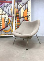 vintage Oyster lounge chair fauteuil Artifort Pierre Paulin