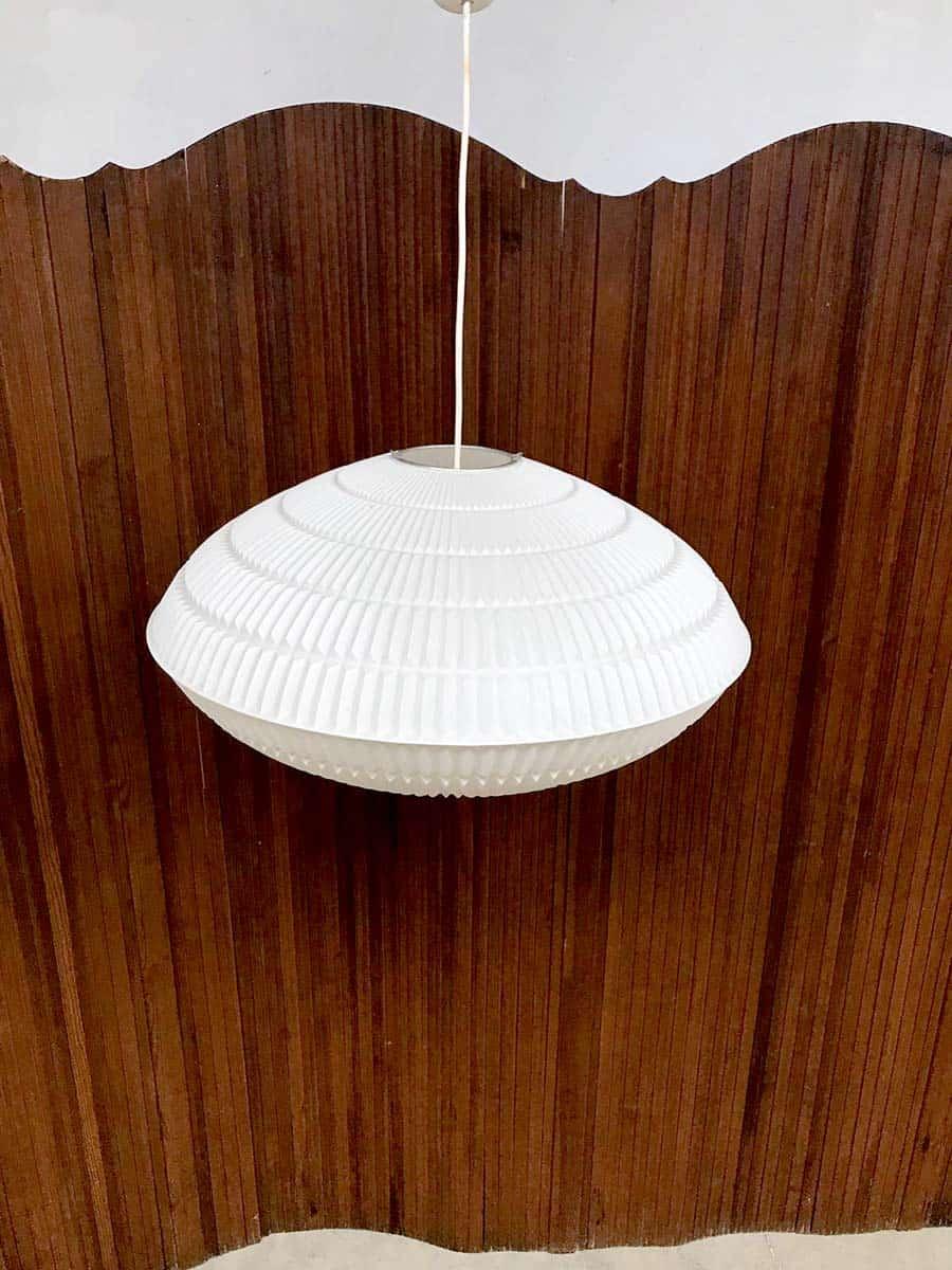 Vintage Danish design pendant hanglamp space age