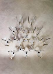 midcentury Italian design chandelier kroonluchter Sciolari