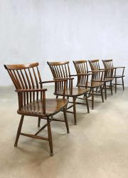 Vintage Swedish design dining chairs Bengt Akerblom eetkamerstoelen