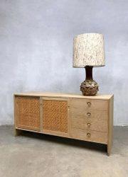 midcentury modern cabinet light oak Hans Wegner cabinet ladekast RY series