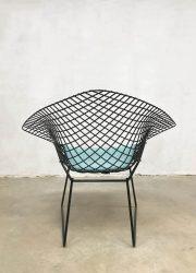 vintage design Harry Bertoia model 421 vintage wire chair