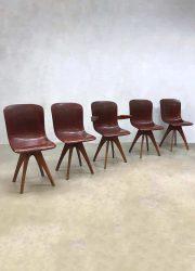 Vintage industrial chairs industriële stoelen Pagholz Flötotto