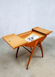 sixties Sewing box sidetable vintage design