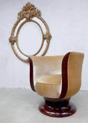 antiek antique spiegel mirror gold giltwood